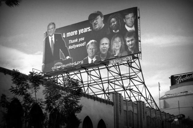 Sarcastic Bush Wins Billboard Hollywood, 2005
