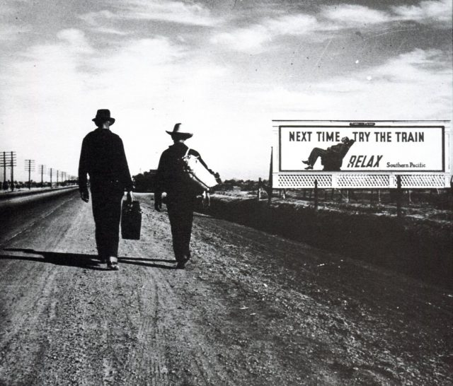 On the Road Toward L.A., 1936