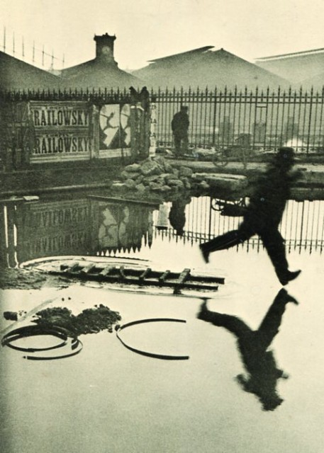 Photo-Journalism Begins with Henri Cartier-Bresson's street photography in the 1930's